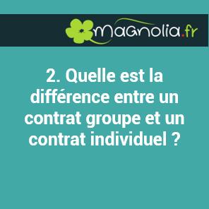 Quelle est la différence entre un contrat groupe et un contrat individuel ?