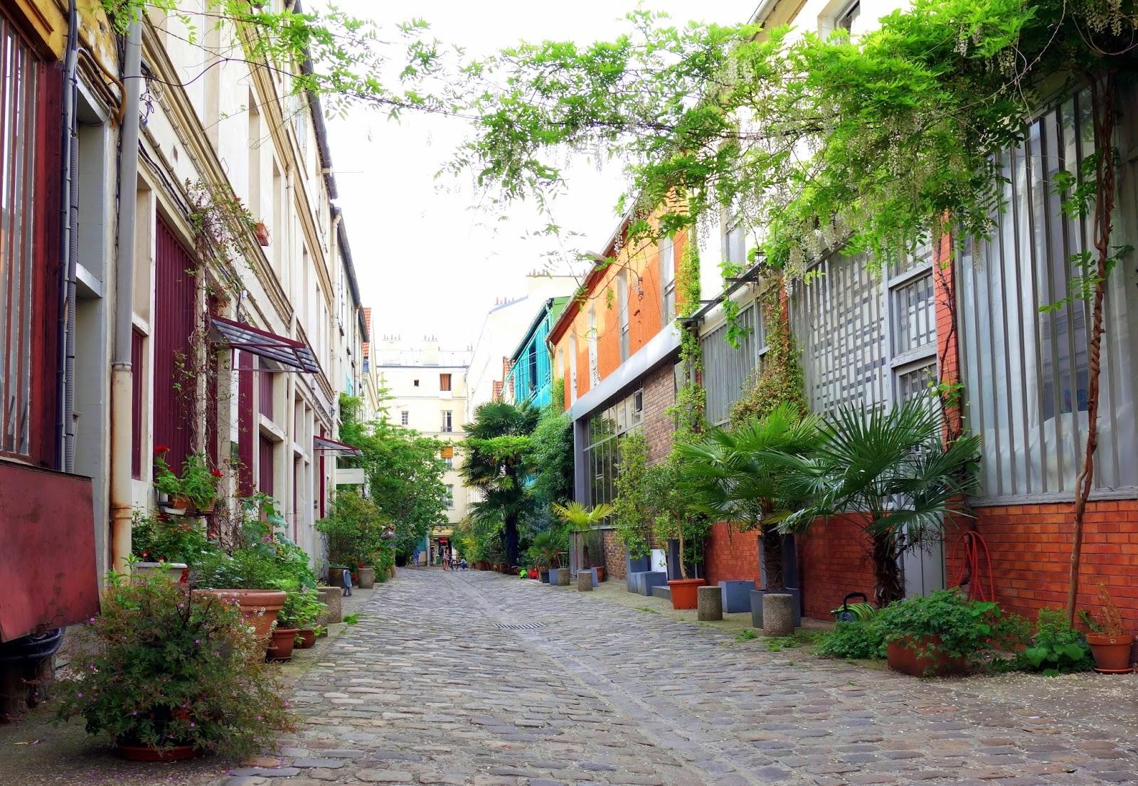 cité du Figuier 11ème arrondissement Paris