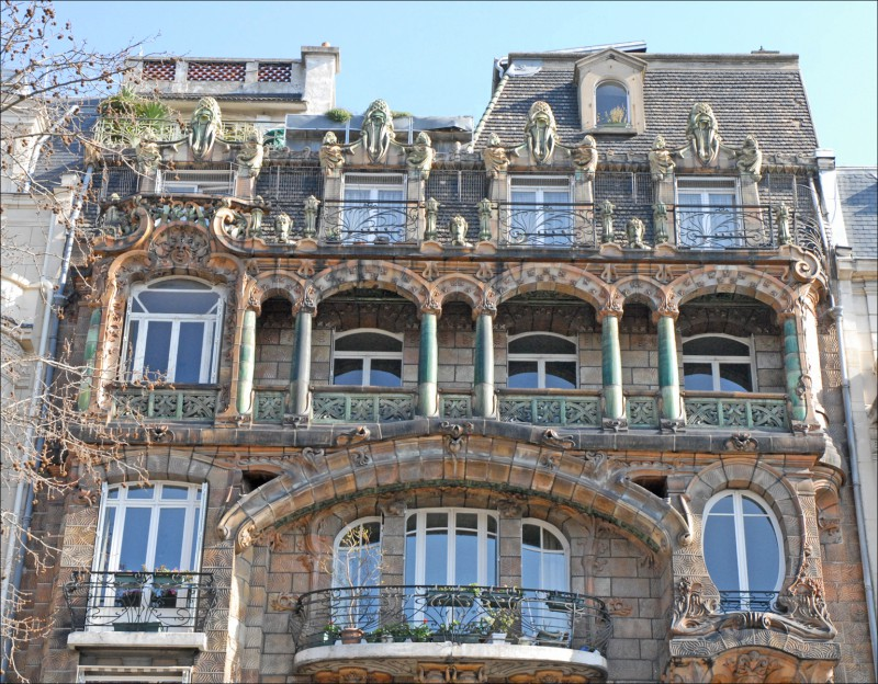 immeuble Lavirotte 7ème arrondissement Paris